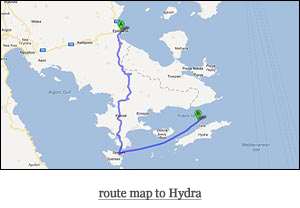 route map to Hydra